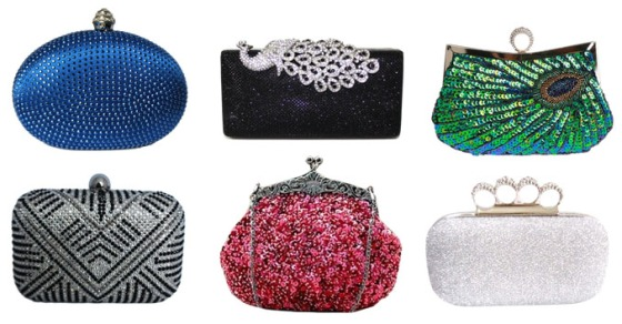 Sparkly Prom Clutches