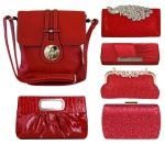Red purses