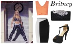 Britney Spears Inspired Outfit