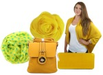Yellow Clothing and Accessories