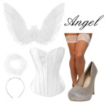 Angel Halloween Costume