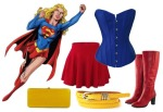 Halloween Costume Supergirl