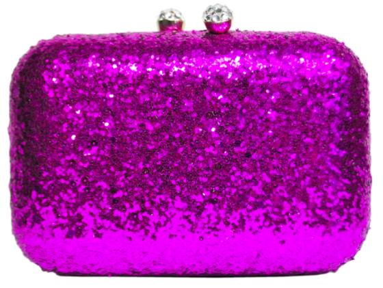 Glitter Confetti Clutch