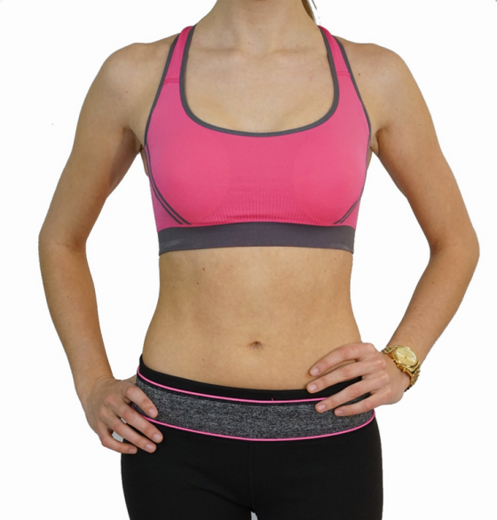 Crossback Wireless Sports Bra