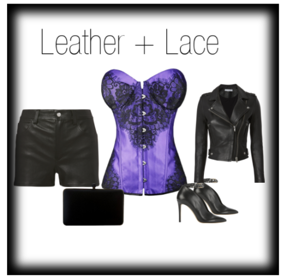 leather and lace